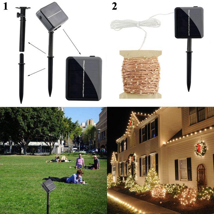 New Outdoor Garden 8 Led Solar Shed Eaves Work Light Lamp: 25+ Best Ideas About Solar Panel Lights On Pinterest