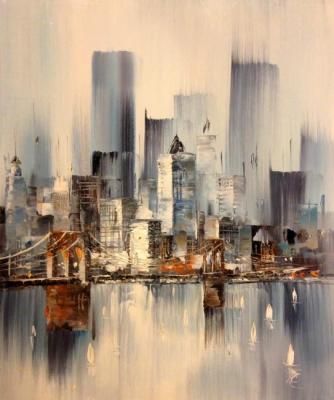 Painting «Cityscape»