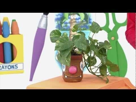 Art attack - Cache-pots rigolos - Sur Disney Junior ! - YouTube
