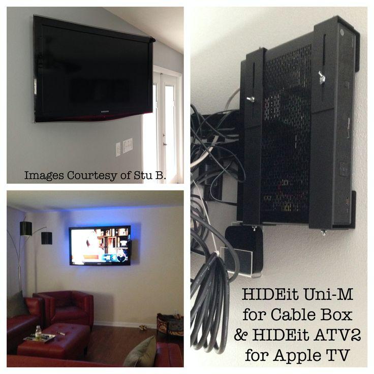 Universal Device Wall Mount Shelf Bracket | AV Components | Cable Box – HIDEit Mounts