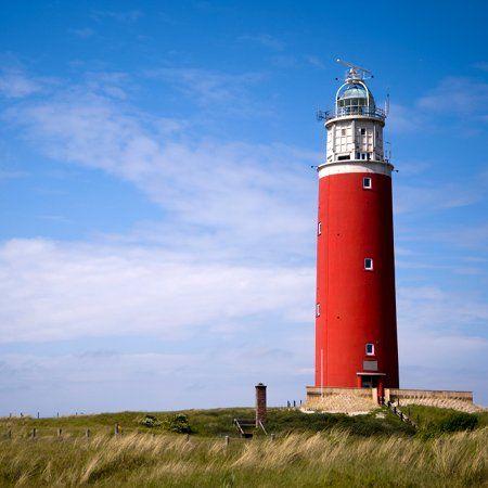 The Netherlands, Province of North Holland - island Texel: De Koog - lighthouse.