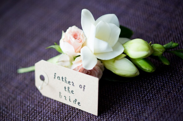 I thought this looked familiar, a Lily&May buttonhole! www.lilyandmay.co.uk