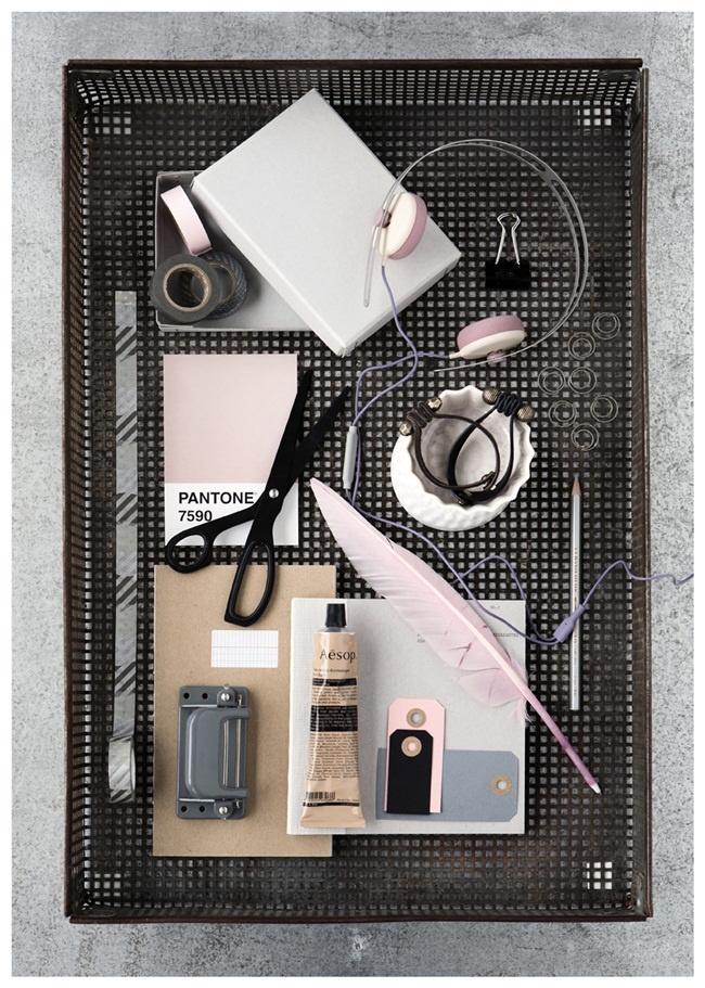 Line Klein photographyInspiration, Style, Soft Pink, Colors, Pastel Pink, Pale Pink, Grey, Pantone, Desks Accessories
