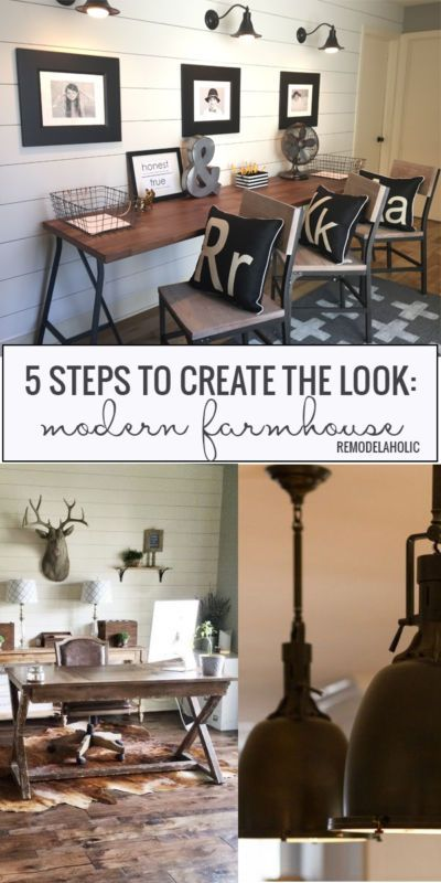 5 Steps To a Perfect Modern Farmhouse Style | eBay