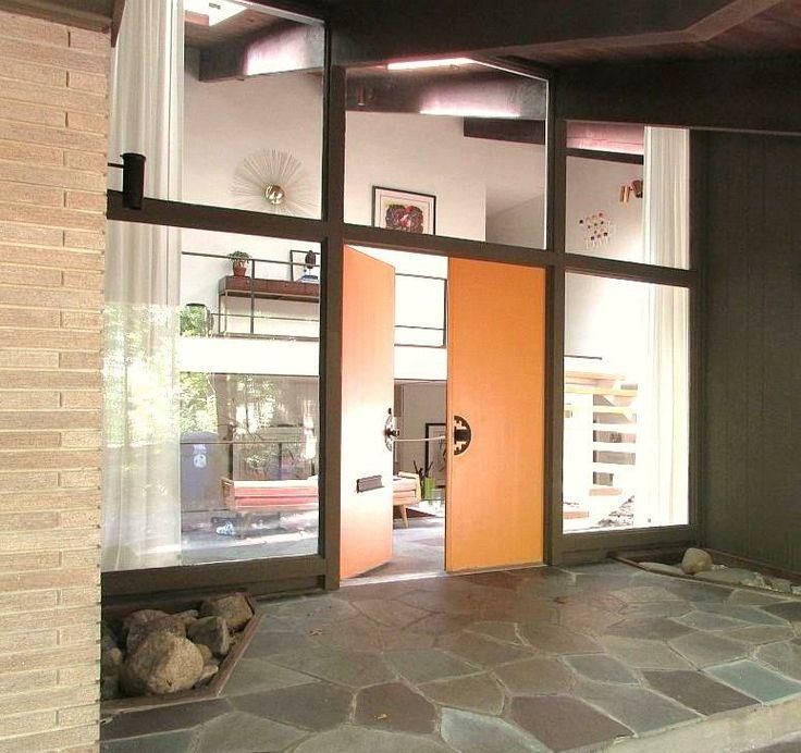 9 Best Mid Century Modern Carports Images On Pinterest: 35 Best Mid Century Modern Interior And Exterior Doors