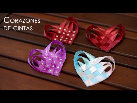 WOVEN HEART Lovebug Wings Ribbon Sculpture Valentine's Day Hair Clip Bow DIY Free Tutorial by Lacey - YouTube