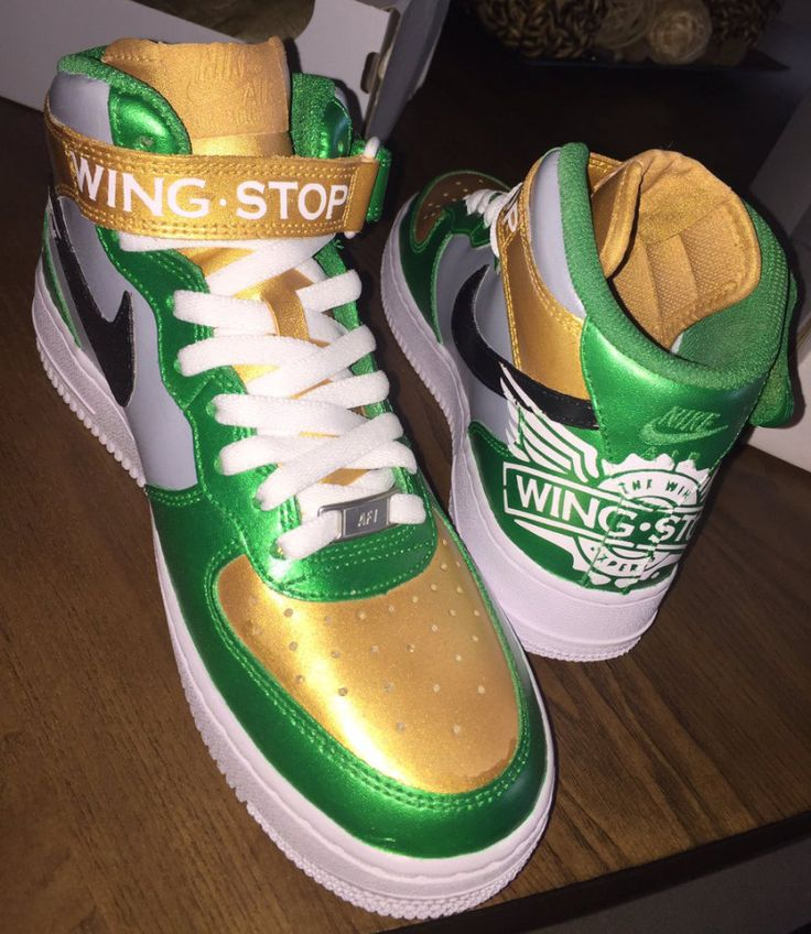 Wingstop Nike Air Force 1 | Sole Collector