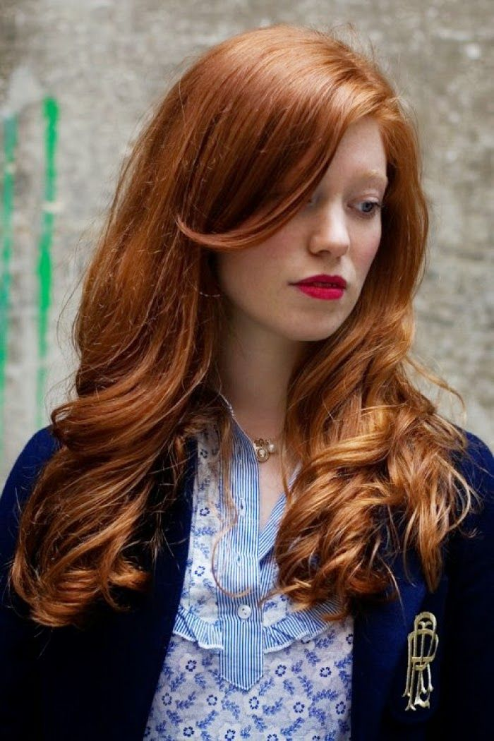 Shades Of Red Hair - Red Hair Color Ideas | Hairstyles |Hair Ideas |Updos