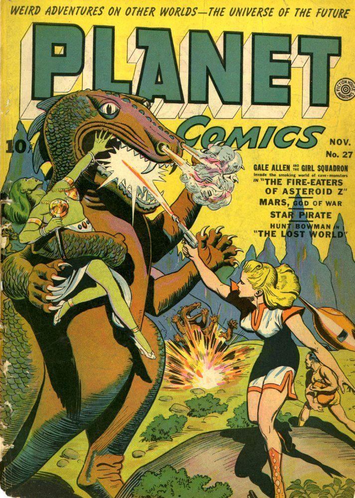 Digital Comic Museum Comic Viewer: Planet Comics 027