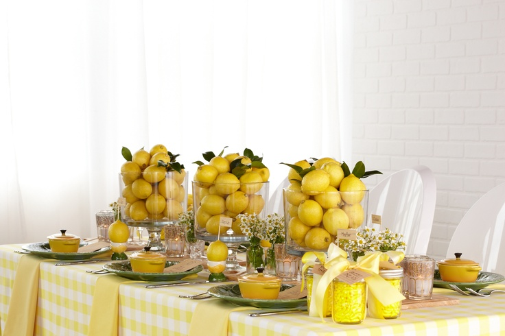 Matching Centerpieces Add a fun twist to your baby shower