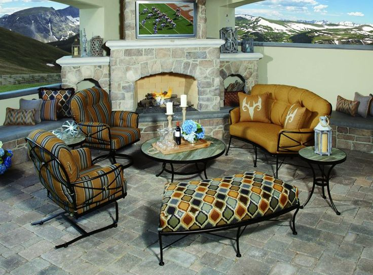 Nice The Cambria Collection By O.W. Lee. Who Wouldnu0027t Want To Watch The Game ·  Outdoor PatiosOutdoor FurnitureThe ...