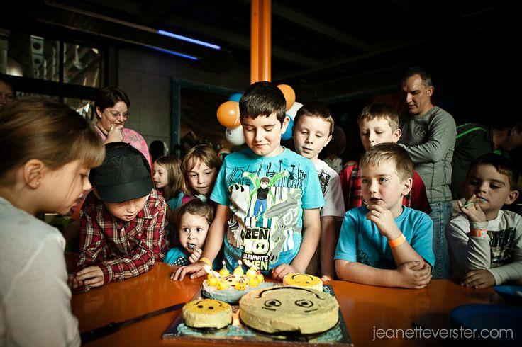 Bradley�s 9th birthday party at Sci-Bono