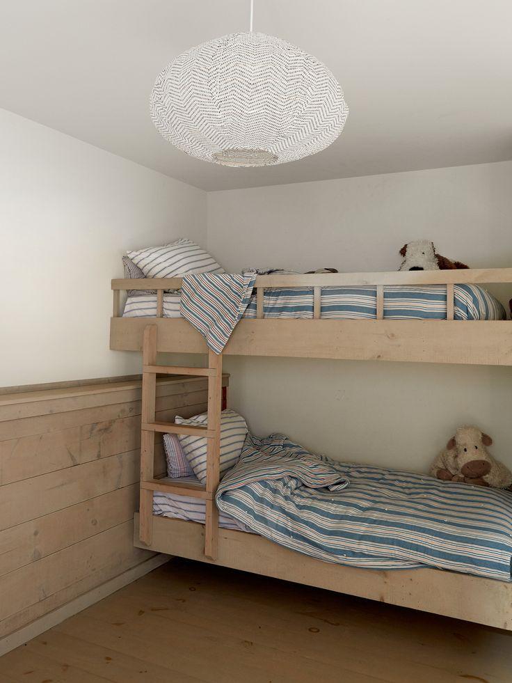 bunk beds.    Est Living   Shelter Island Home   Ochre