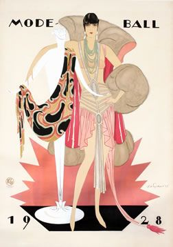 Mode Ball (1928)  Artist : Julius U. Engelhard   (Germany, 1883-1964)