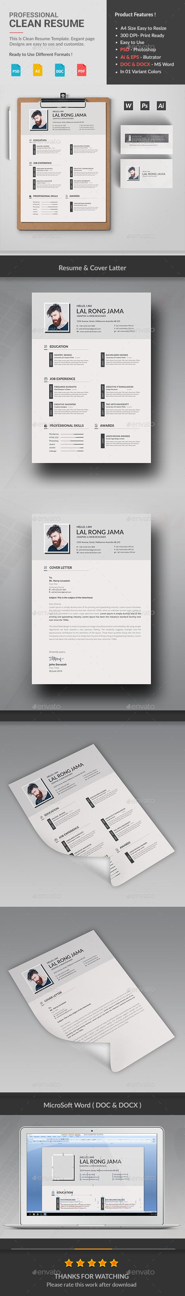 Cv Templates Design%0A  simple  clean  professional  Resume  Cv  template   modern Resumes