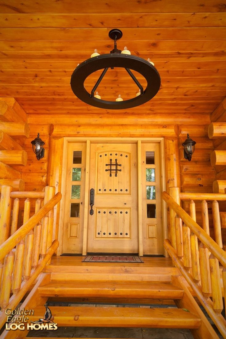 30 best images about lakehouse ranch luxury log home on for Log house doors