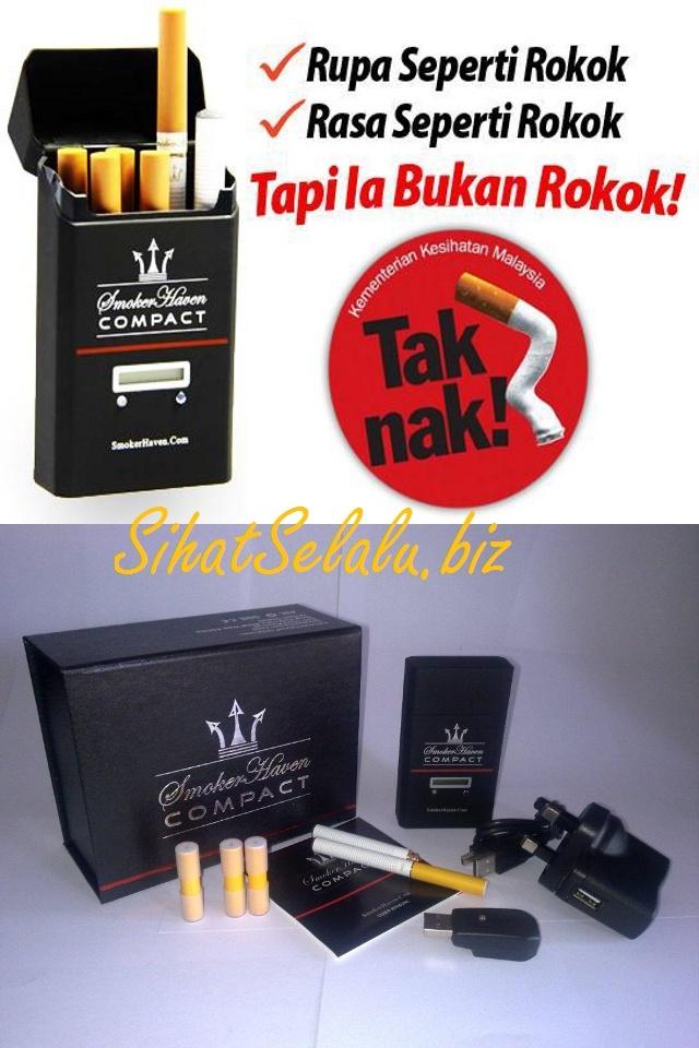 ROKOK ELEKTRONIK SMOKERHAVEN COMPACT - Ubahlah kepada cara merokok yang lebih selamat dan jimat!!