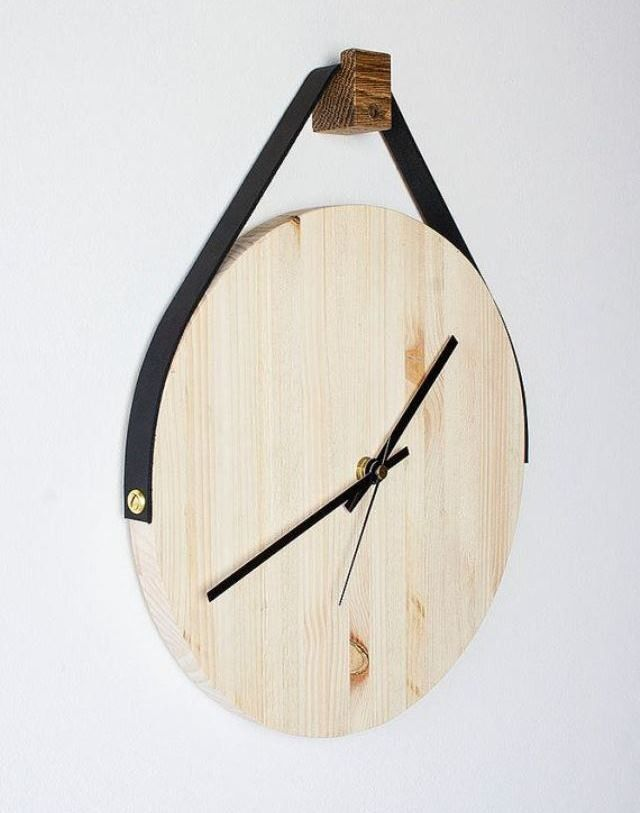 Настенные часы своими руками. Оригинальные настенные часы с кукушкой, маятником своими руками