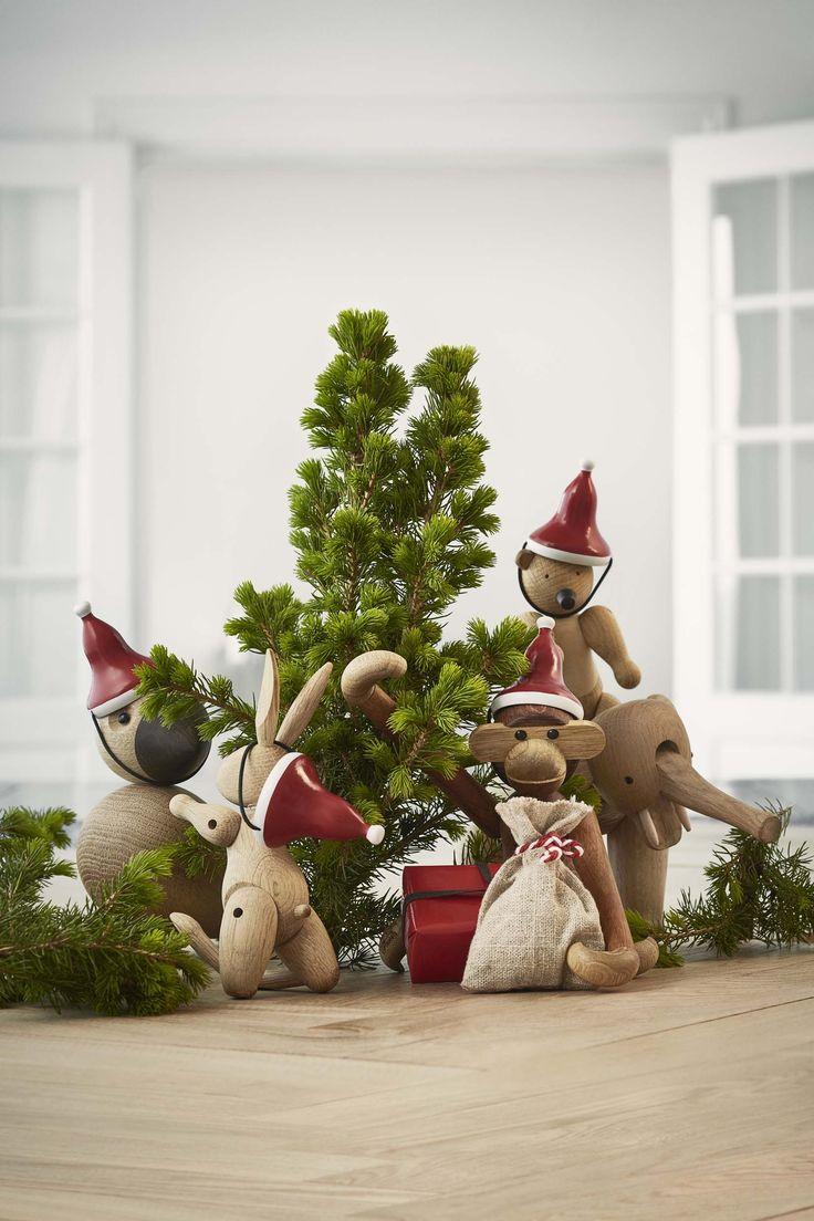 Santa hats by Kay Bojesen Denmark