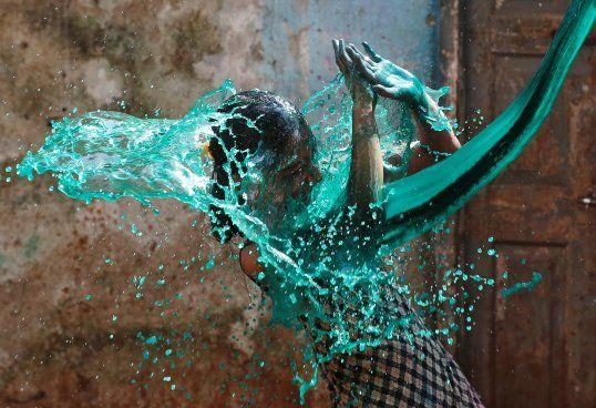 Holi celebrations in India