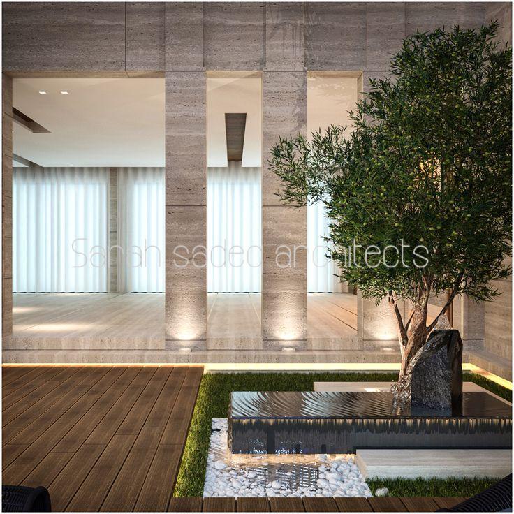 177 best images about sarah sadeq architectes on pinterest for Garden design kuwait