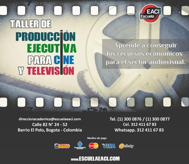 Taller de Producción Ejecutiva para Cine y Televisión