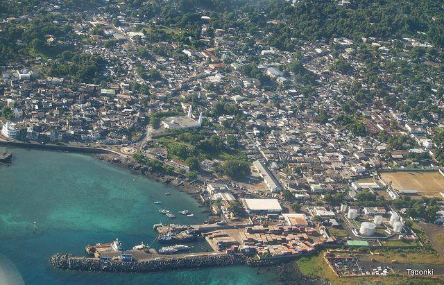 Moroni, capital of Comoros
