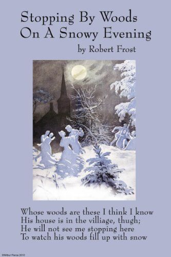 the hidden meaning in words in stopping by woods on a snowy evening This analysis of the symbolism in the road not taken demonstrates this   the road not taken is a pretty poem about nature, but with much deeper  symbolic meaning  a few instances are stopping by woods on a snowy  evening, birches  the words way leads on to way symbolizes the poet's.