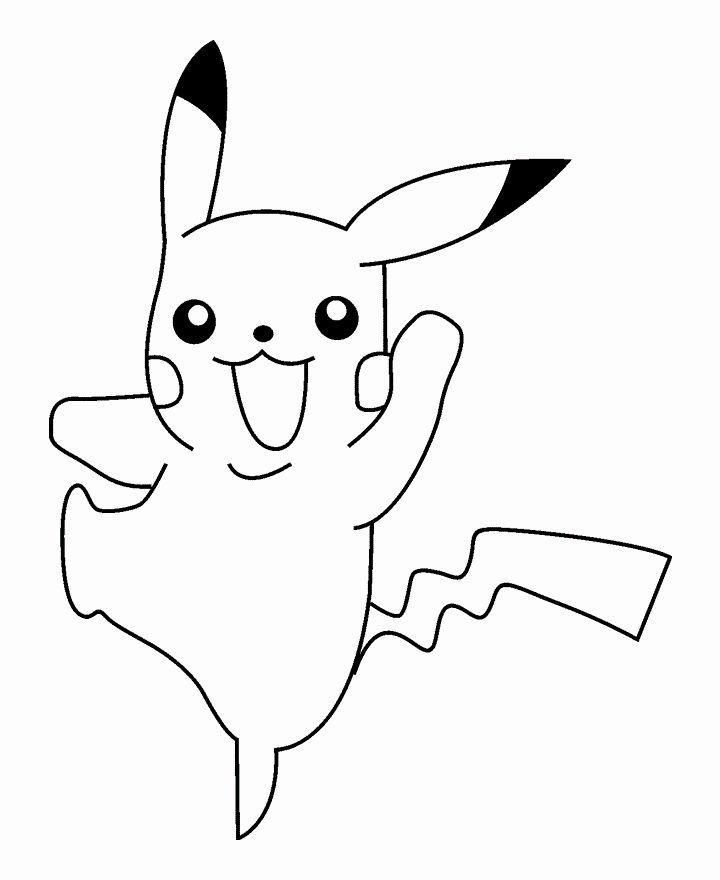 Pikachu Printable Coloring Pages Awesome Free Printable Pikachu Coloring Pages For Kids Pokemon Ausmalbilder Pokemon Malvorlagen Ausmalbilder