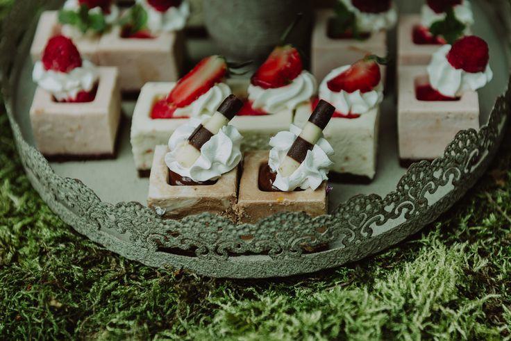 Enchanted Castle Candy & Fruit Corner/Bar  - Satori Art & Event Design Vintage iron, moss, candle holders, outdoor, antique, old, woodland, wedding, events, design, decor, inspiration, details,