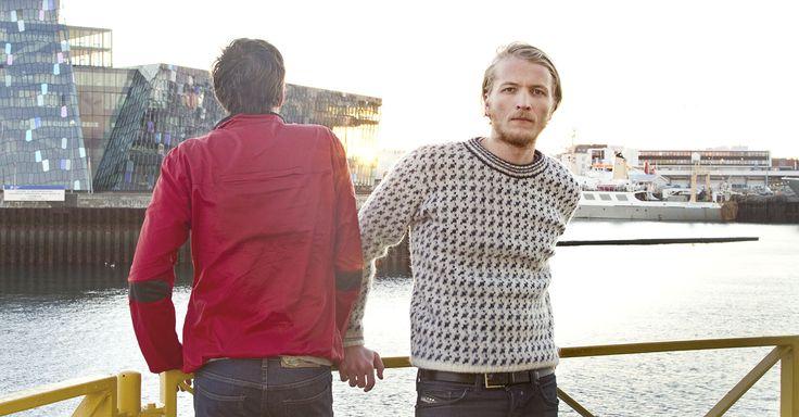 Unnar - Light Jacket & Færeyingur - Icelandic Wool Sweater.