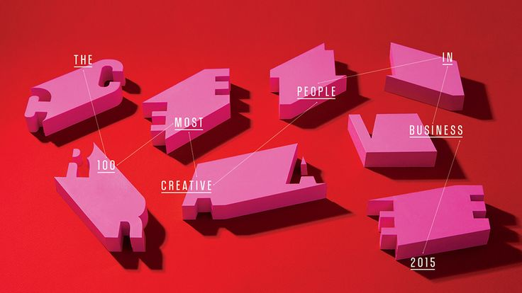 """Fast Company Unveils Its 2015 """"100 Most Creative People in Business"""". Visit us at: www.itchltd.com"""