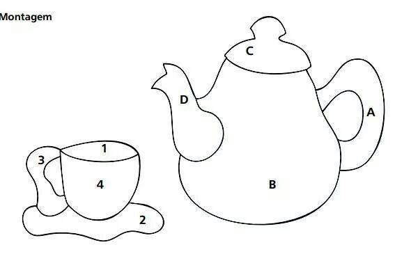 Bule e xícara