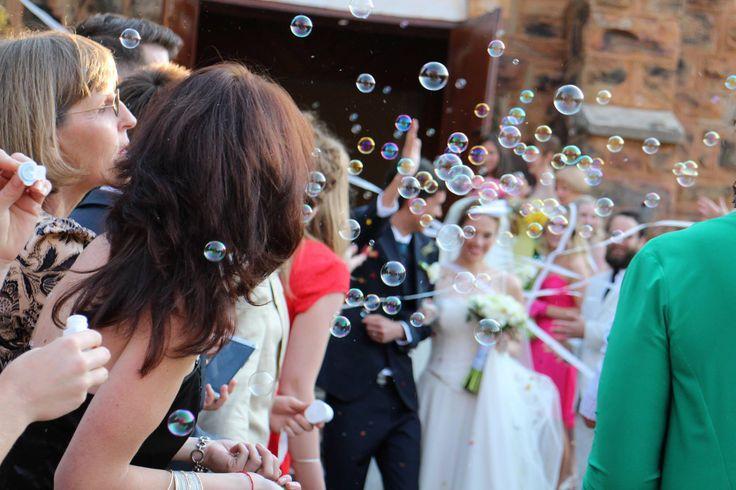 No clean up... #bubbles for #confetti bar!