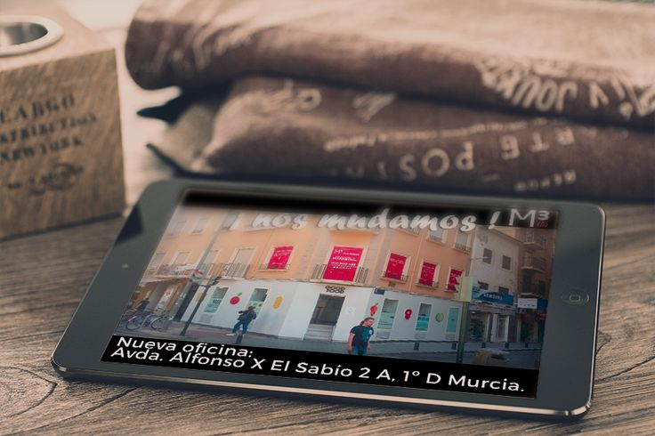 AÑO NUEVO, INSTALACIONES NUEVAS PARA M3 AGENCIA DE PUBLICIDAD Y MARKETING EN MURCIA ¡NOS MUDAMOS¡ Avda. Alfonso X El Sabio, 2ª A, 1ºD. TEL 9689005453