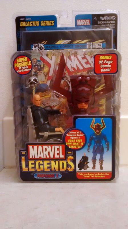 New 2005 Marvel ToyBiz Galactus Series Marvel Legends Professor X Action Figure  #ad