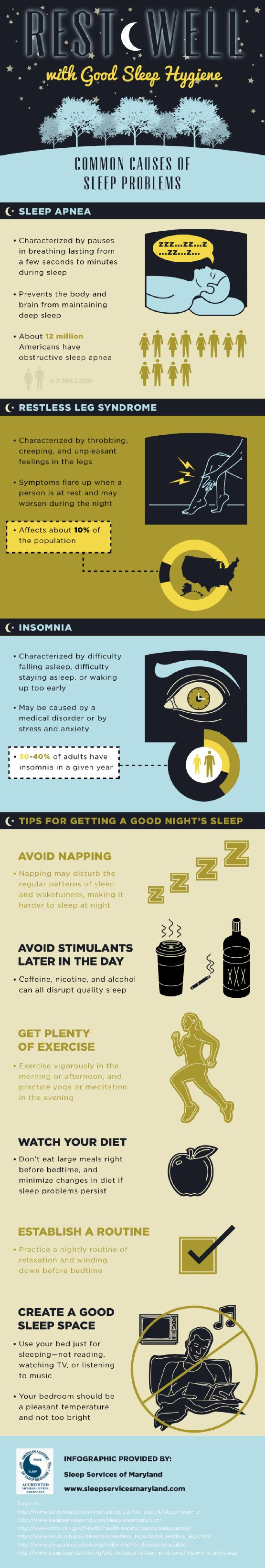 Sleep Hygienegraphic  See More Tips For Getting Good Nights Of Sleep  And Check Out