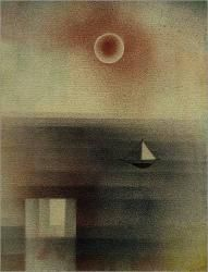 Paul Klee  'Calm Sea at Z'