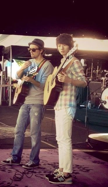 Sungha with Jason :))