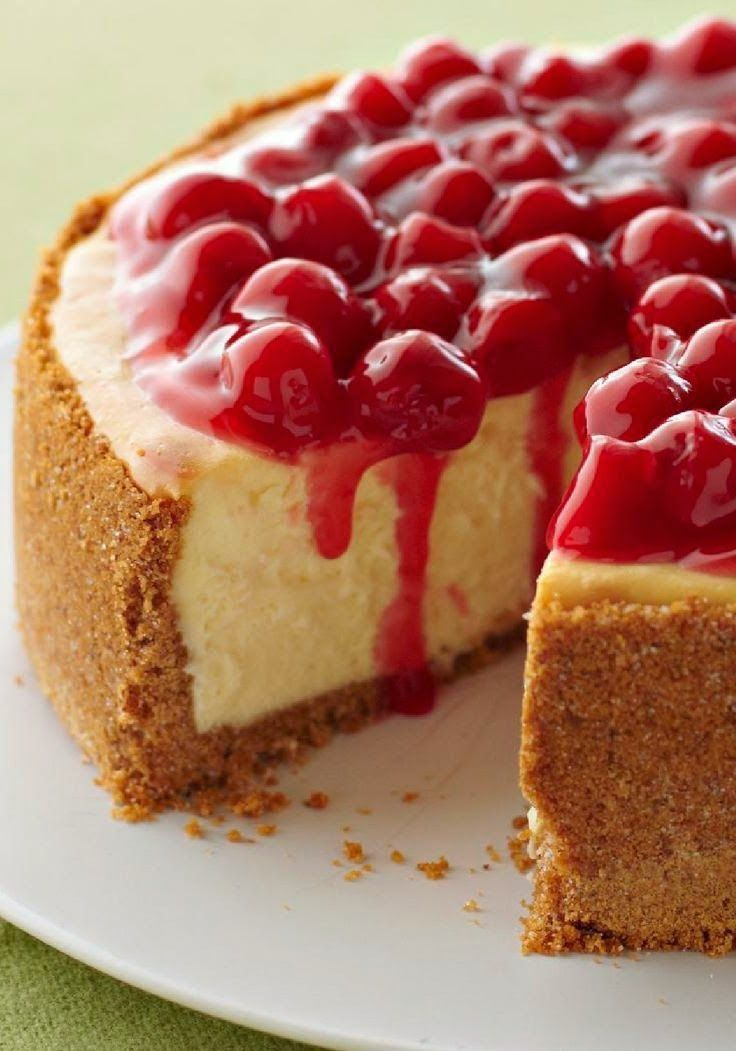 Not only is this our best cheesecake—a rich, creamy, cherry-topped showstopper—it's also one of the easiest to make!   Best Cheesecake...