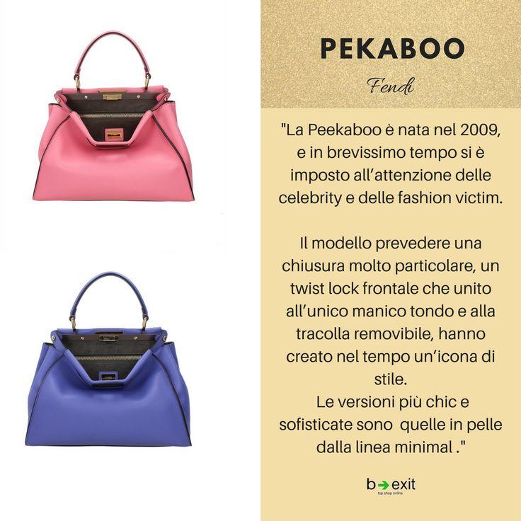 Qual è la vostra borsa 👜 dei sogni ✨? La PEKABOO?