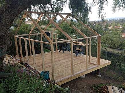 Deck Tents David Ellis Canvas Products Wood Frame