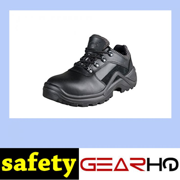 HICO Men's Low/Mid Cool Steel Toe Safety Work Shoe