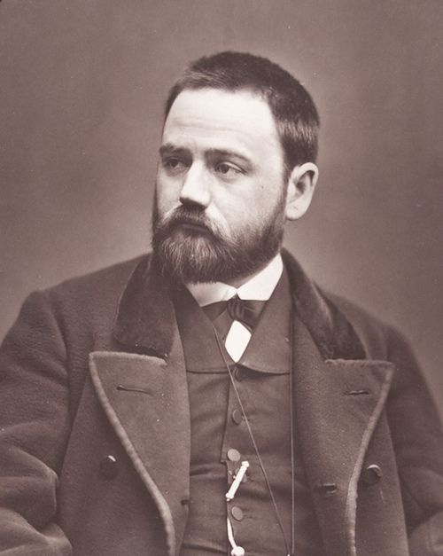 I guess you are wondering who is this handsome bearded man, right? Well this is hottie is French writer Émile Zola (1840-1902). Portrait by photographer Etienne Carjat,1865.