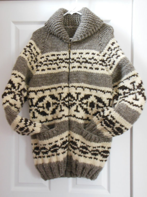 Reserved for Steve Buswell Cowichan Sweater by FunkyFernwood, $350.00