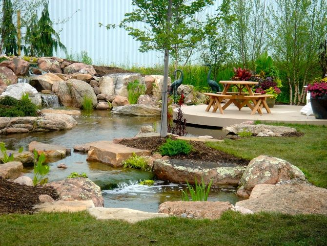ponds and waterfalls for the backyard - Google Search