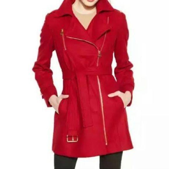 MICHAEL Michael Kors Jackets & Coats - Michael Kors red wool coat