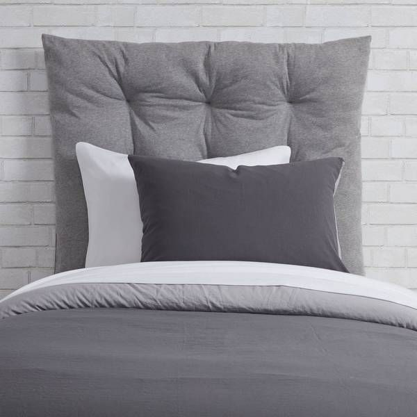 Grey Sweatshirt Twin Twin Xl Headboard Cushion In 2020 Cushion Headboard Dorm Room Designs Dorm Headboard