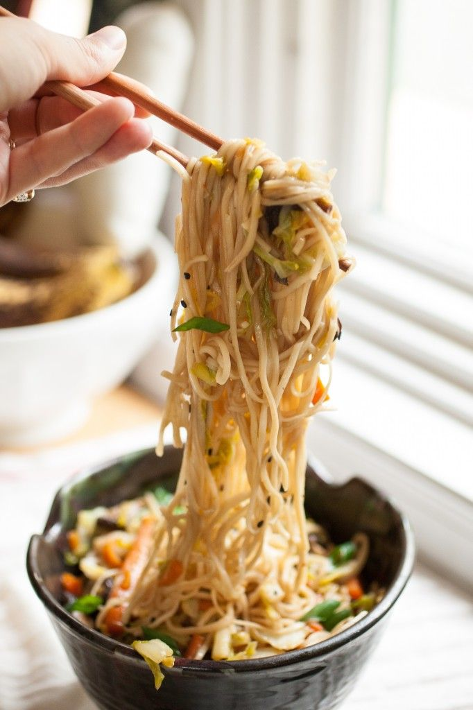 Vegetable Chow Mein - Better than restaurant chow mein; this really is the best