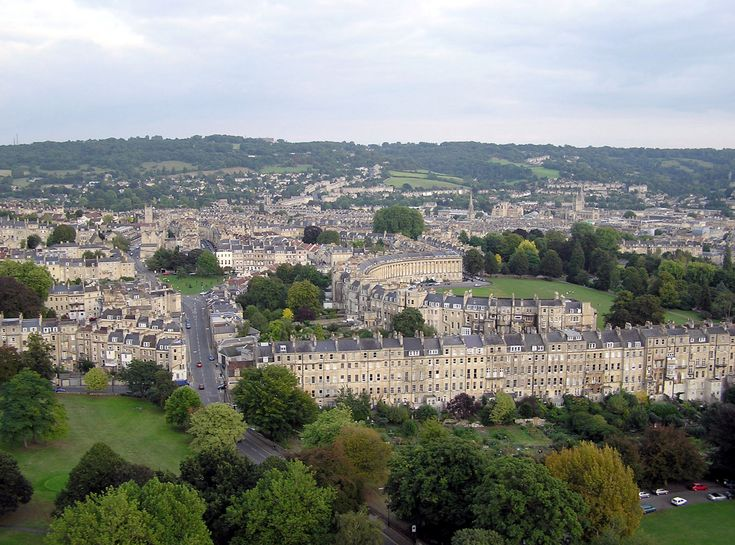 Bath - I could happily skip London, but I would love to visit Bath.